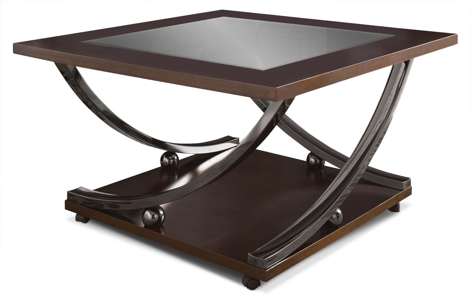 Accent and Occasional Furniture - Rollins Coffee Table with Casters