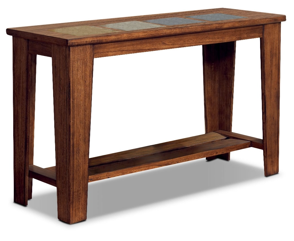 Accent and Occasional Furniture - Savannah Sofa Table