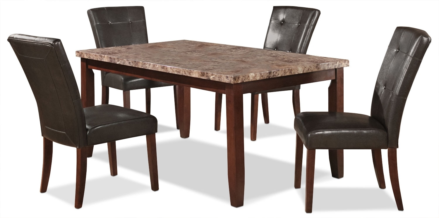 Dining Room Furniture - Tahoe 5 Piece Dining Package