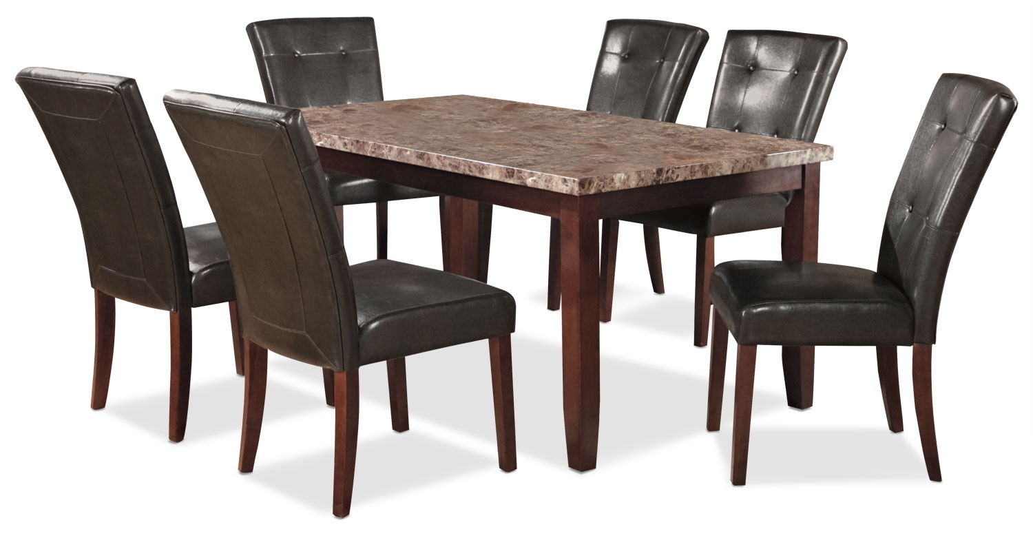 Dining Room Furniture - Tahoe 7 Piece Dining Package