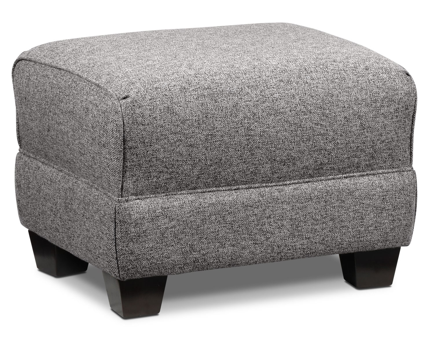 Living Room Furniture - Ashby Ottoman - Oreo