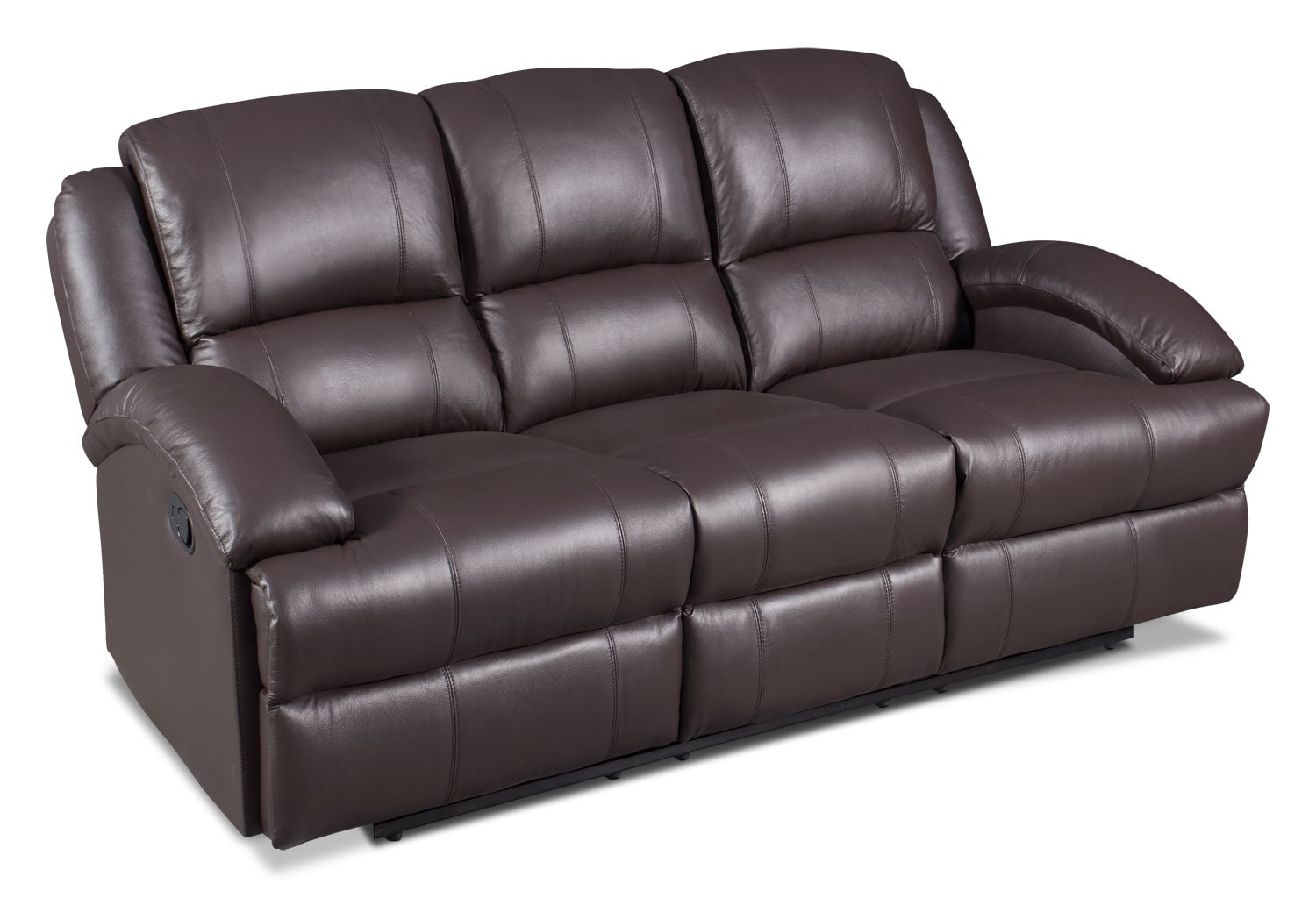 Real leather sofas the real leather sofa bed regarding for Sofa actual