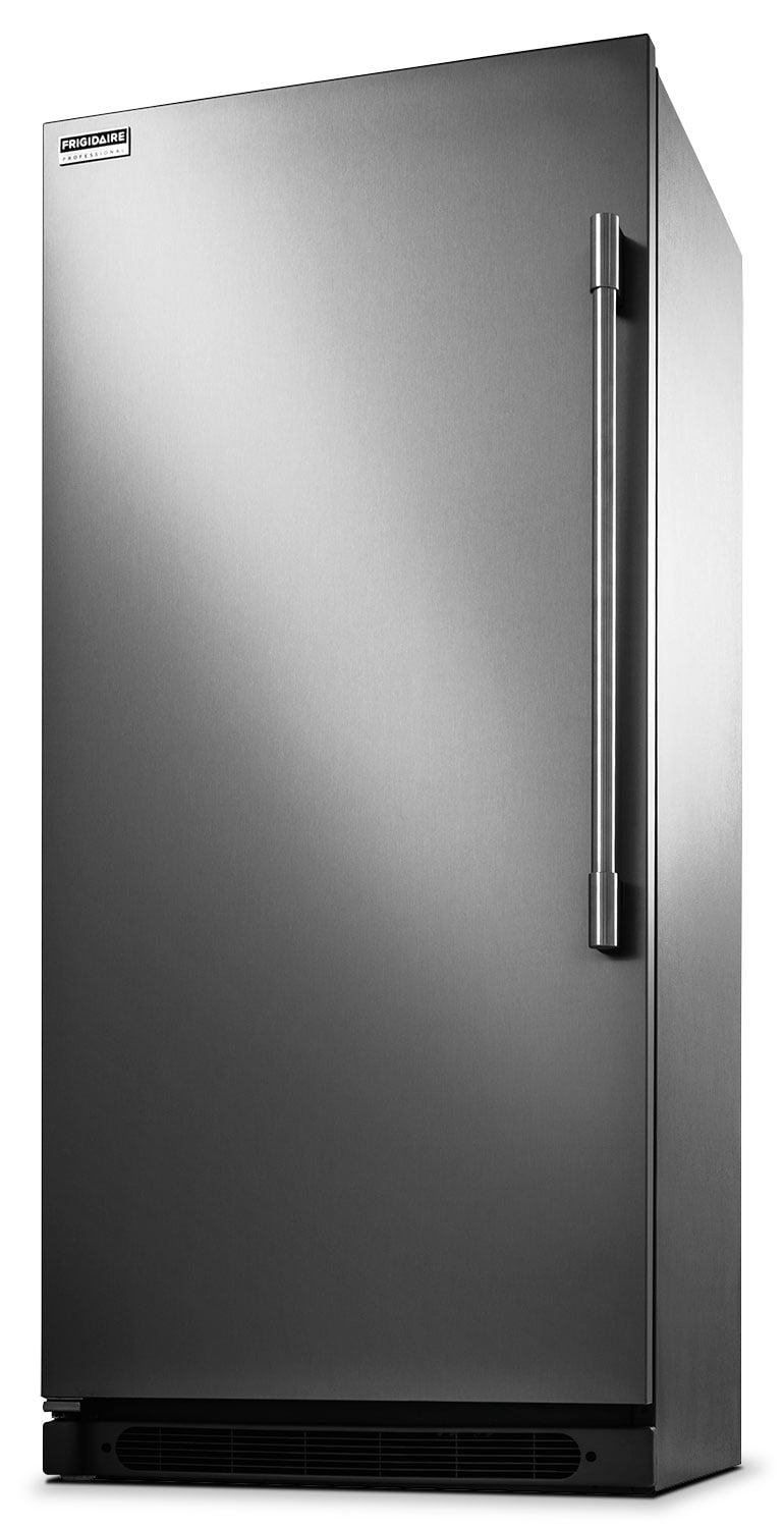 Refrigerators and Freezers - Frigidaire 19 Cu. Ft. Upright Freezer - Stainless Steel
