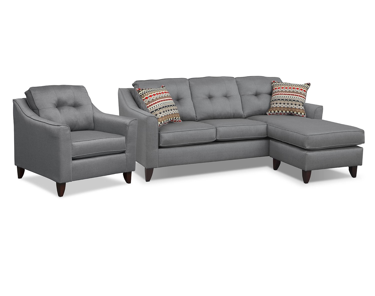 [Marco Gray Sectional Living Room Collection]