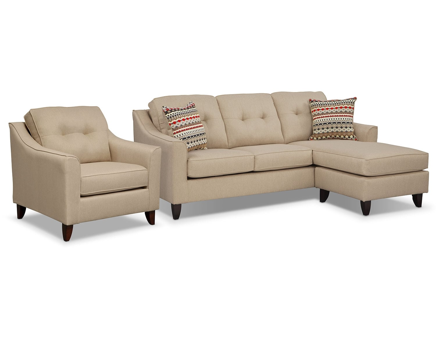 [Marco Cream Sectional Living Room Collection]