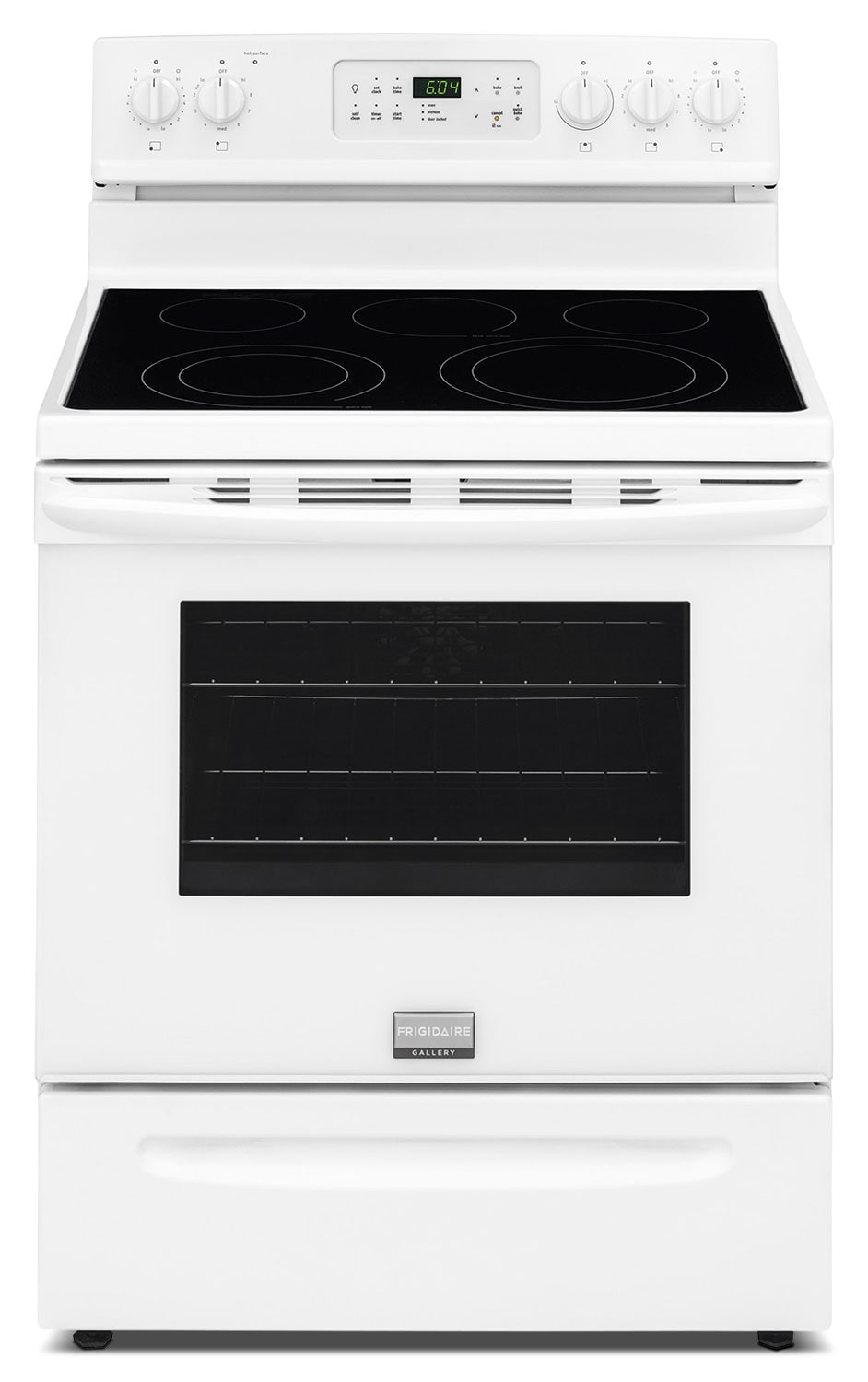 Frigidaire Gallery White Freestanding Electric Convection Range (5.7 Cu. Ft.) - CGEF3035RW