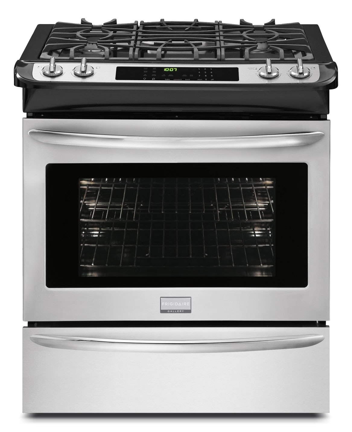 Cooking Products - Frigidaire Gallery Slide-In Dual Fuel Convection Range (4.6 Cu. Ft.) - CGDS3065PF