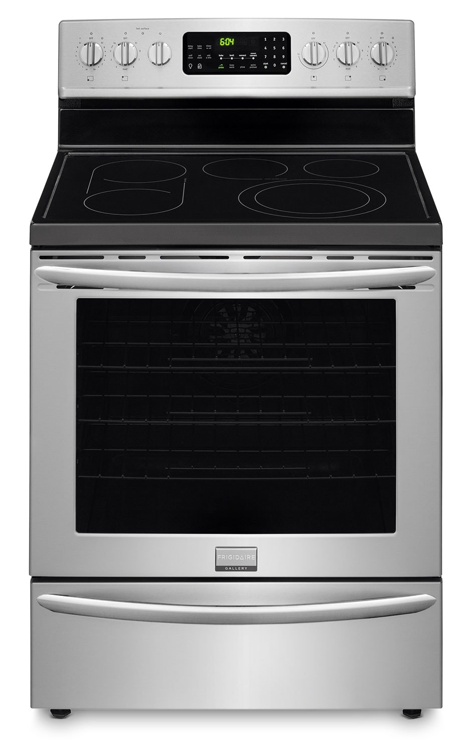 Cooking Products - Frigidaire Gallery Stainless Steel Freestanding Electric Convection Range (5.8 Cu. Ft.) - CGEF3059RF