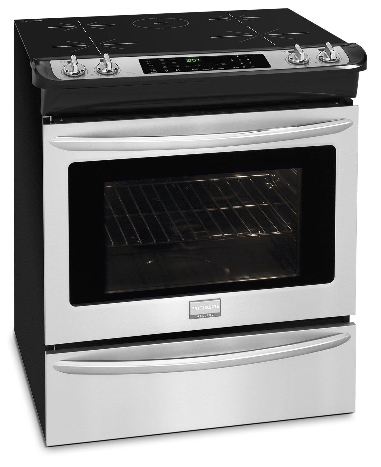 Cooking Products - Frigidaire Gallery Stainless Steel Slide-In Induction Range (4.6 Cu. Ft.) - CGIS3065PF