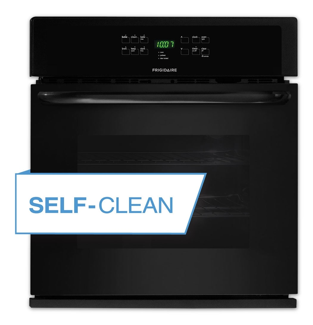 Cooking Products - Frigidaire Black Wall Oven (4.6 Cu. Ft.) - FFEW3025PB