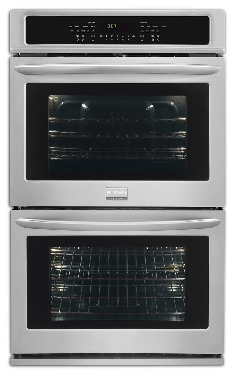 Frigidaire Gallery Stainless Steel Double Convection Wall Oven (9.2 Cu. Ft.) - FGET3065PF
