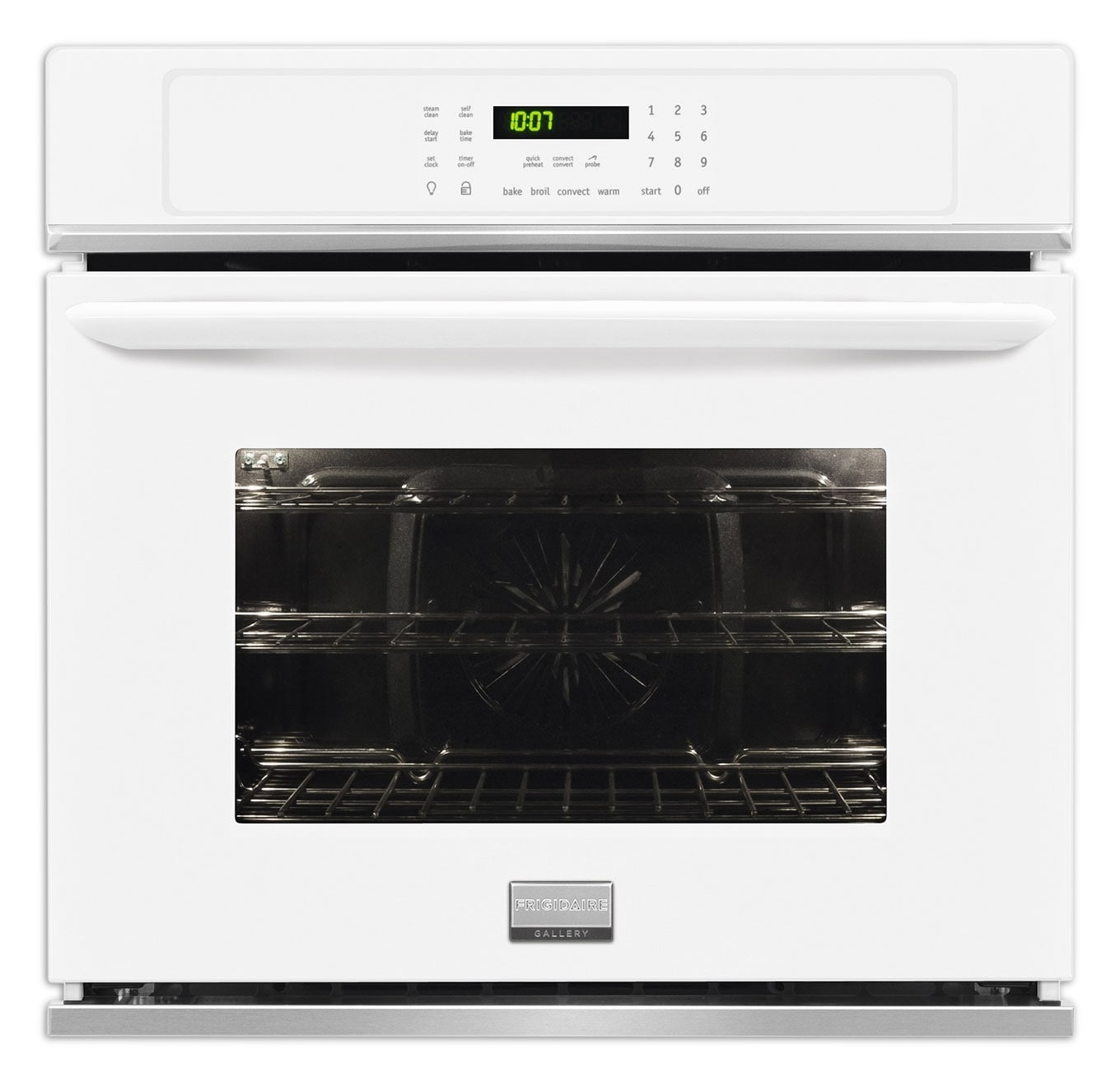 Cooking Products - Frigidaire Gallery White Convection Wall Oven (4.6 Cu. Ft.) - FGEW3065PW