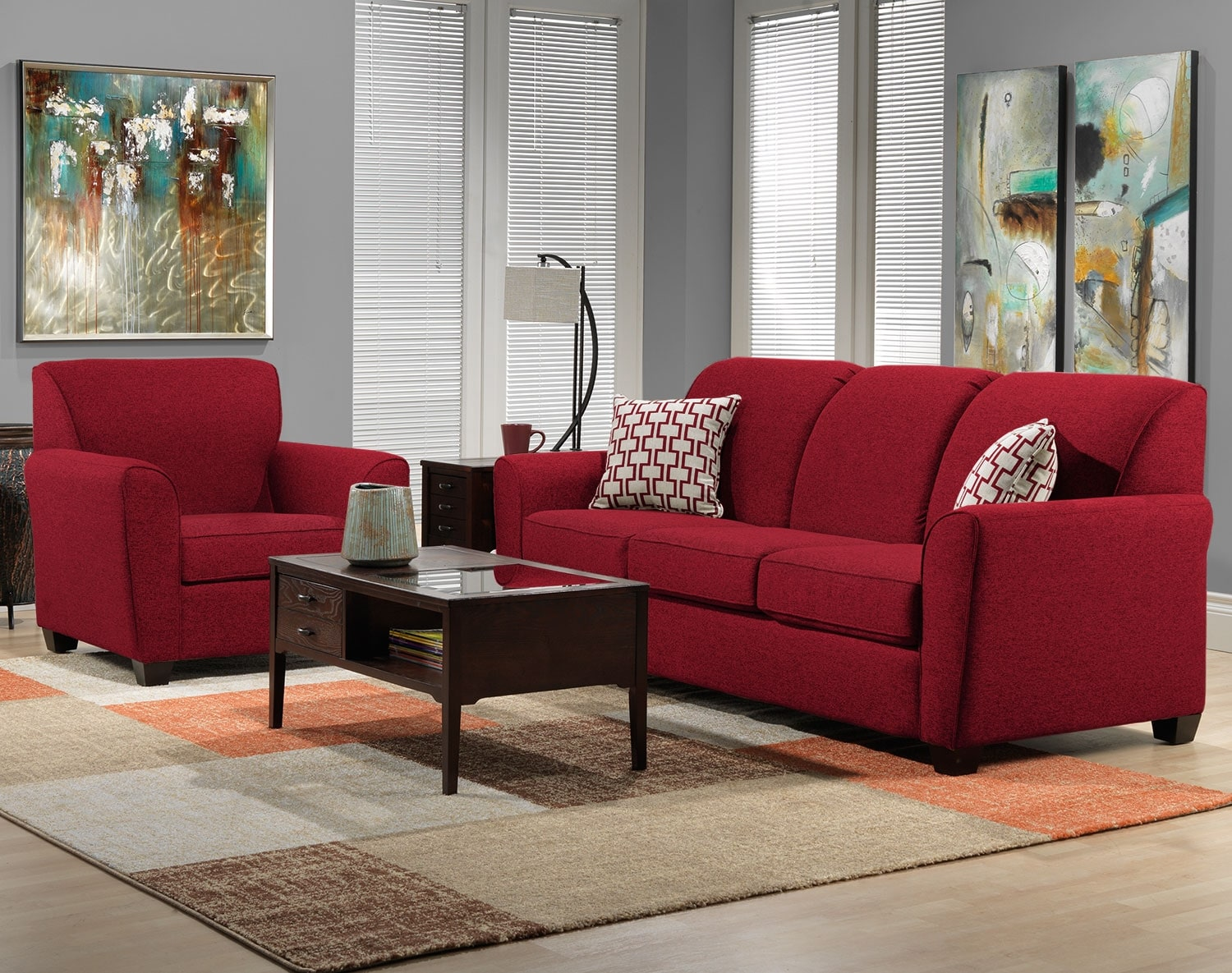 The Ashby Collection - Red