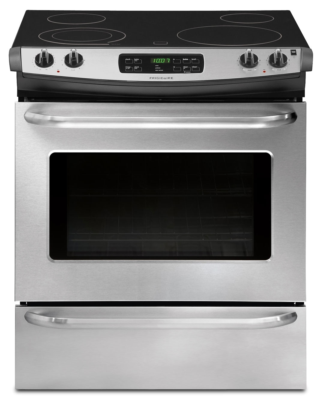 Cooking Products - Frigidaire Stainless Steel Slide-In Electric Range (4.2 Cu. Ft.) - CFES3025PS