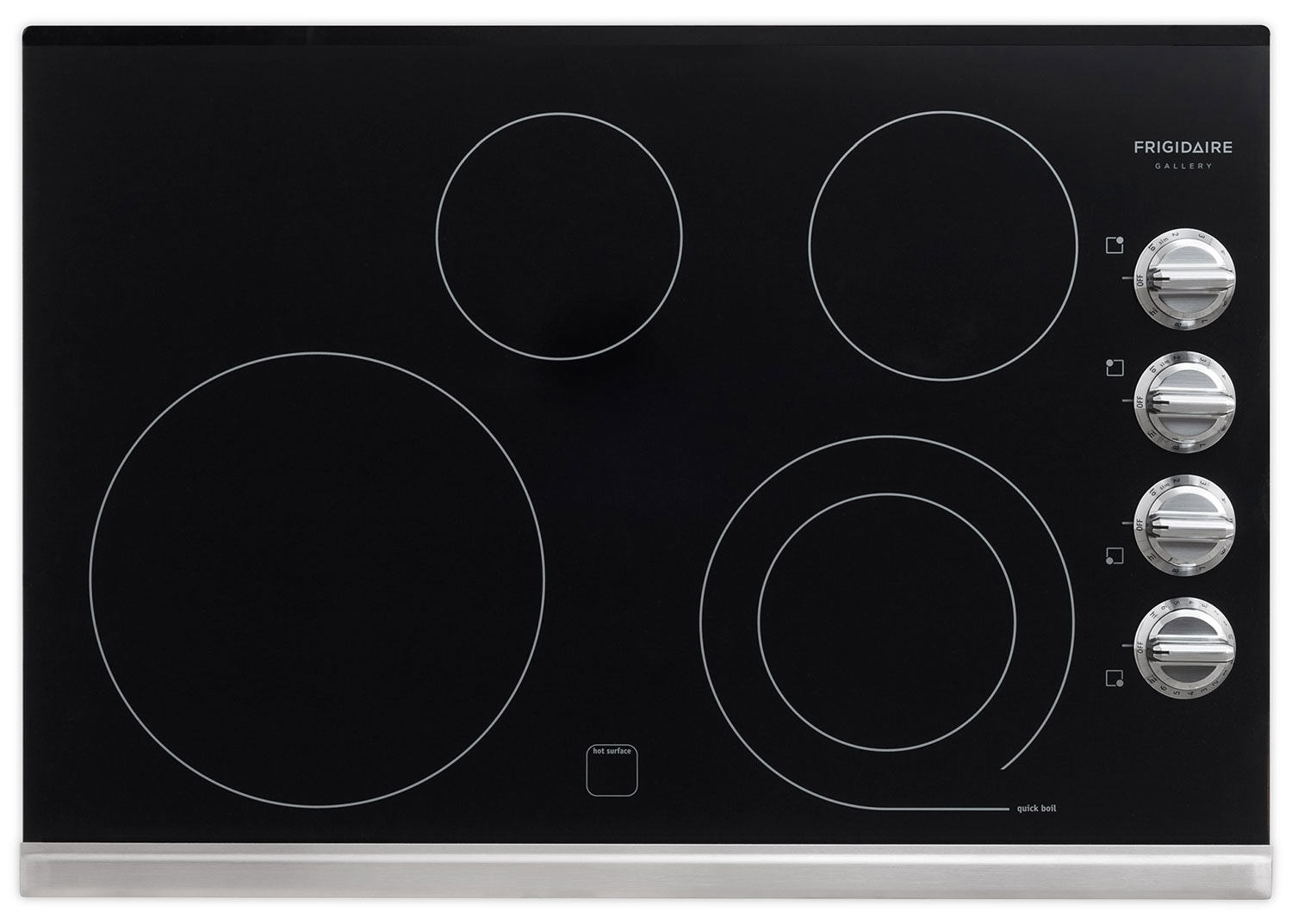 Cooking Products - Frigidaire Gallery Stainless Steel Electric Cooktop - FGEC3045PS