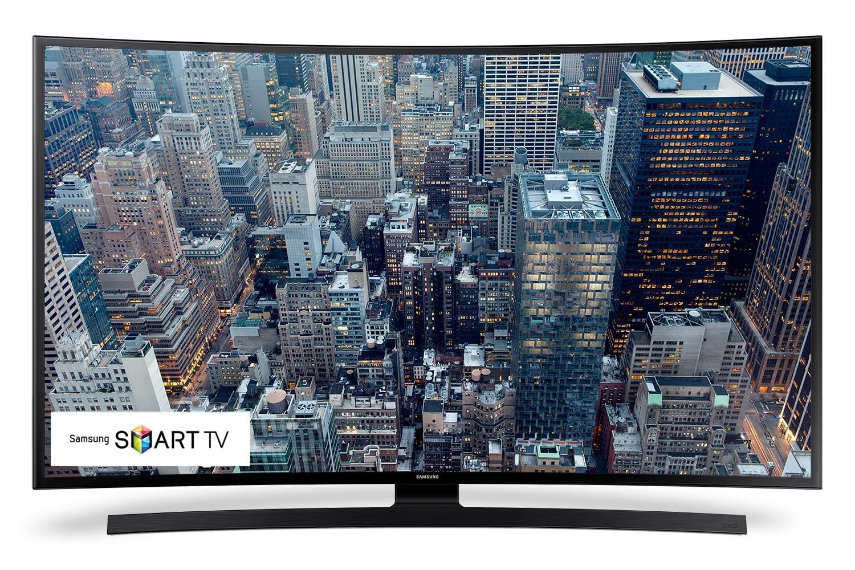 "[Samsung 48"" Curved 4K UHD Smart LED UN48JU6700FXZC]"