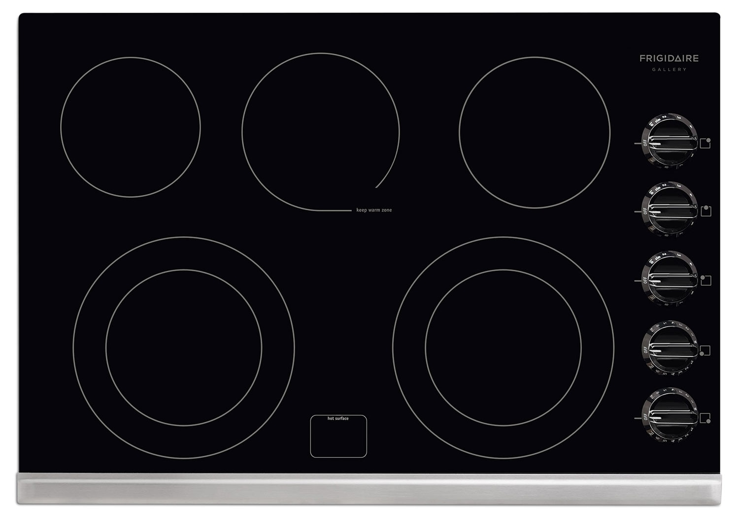 Cooking Products - Frigidaire Gallery Black Electric Cooktop FGEC3067MB