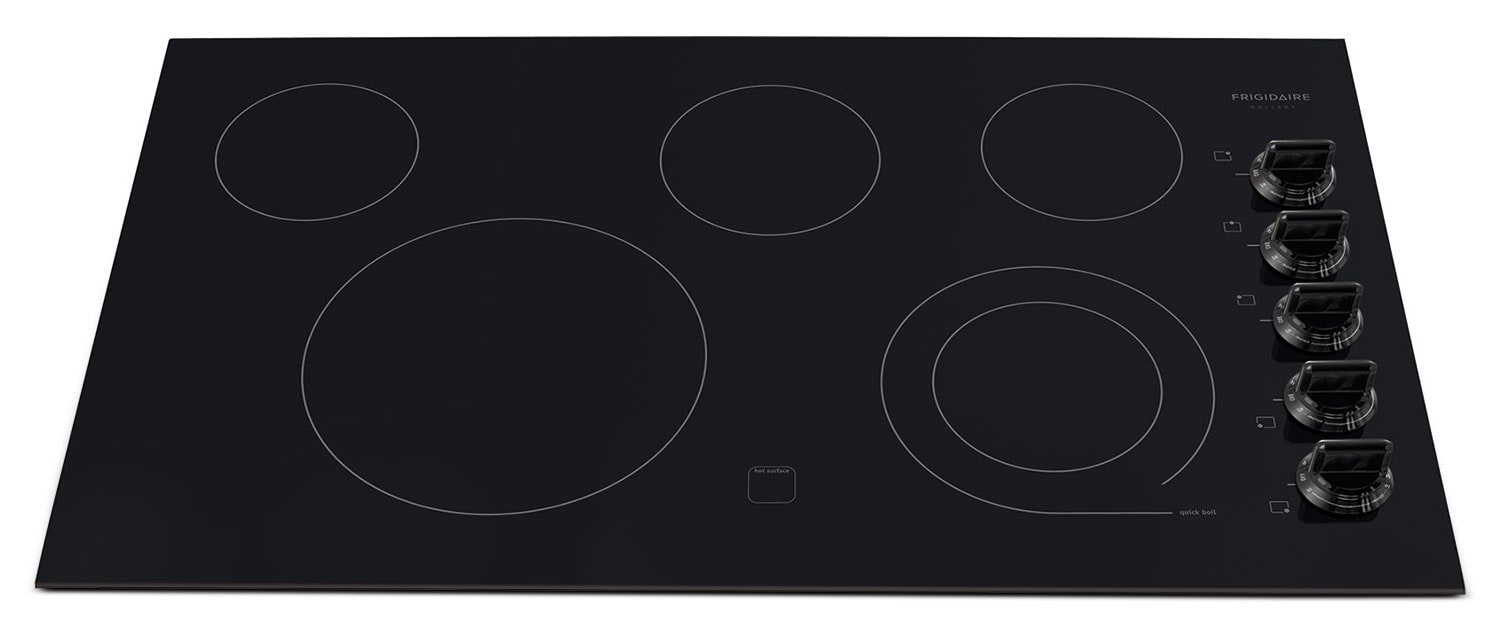 Cooking Products - Frigidaire Gallery Black Electric Cooktop FGEC3645KB