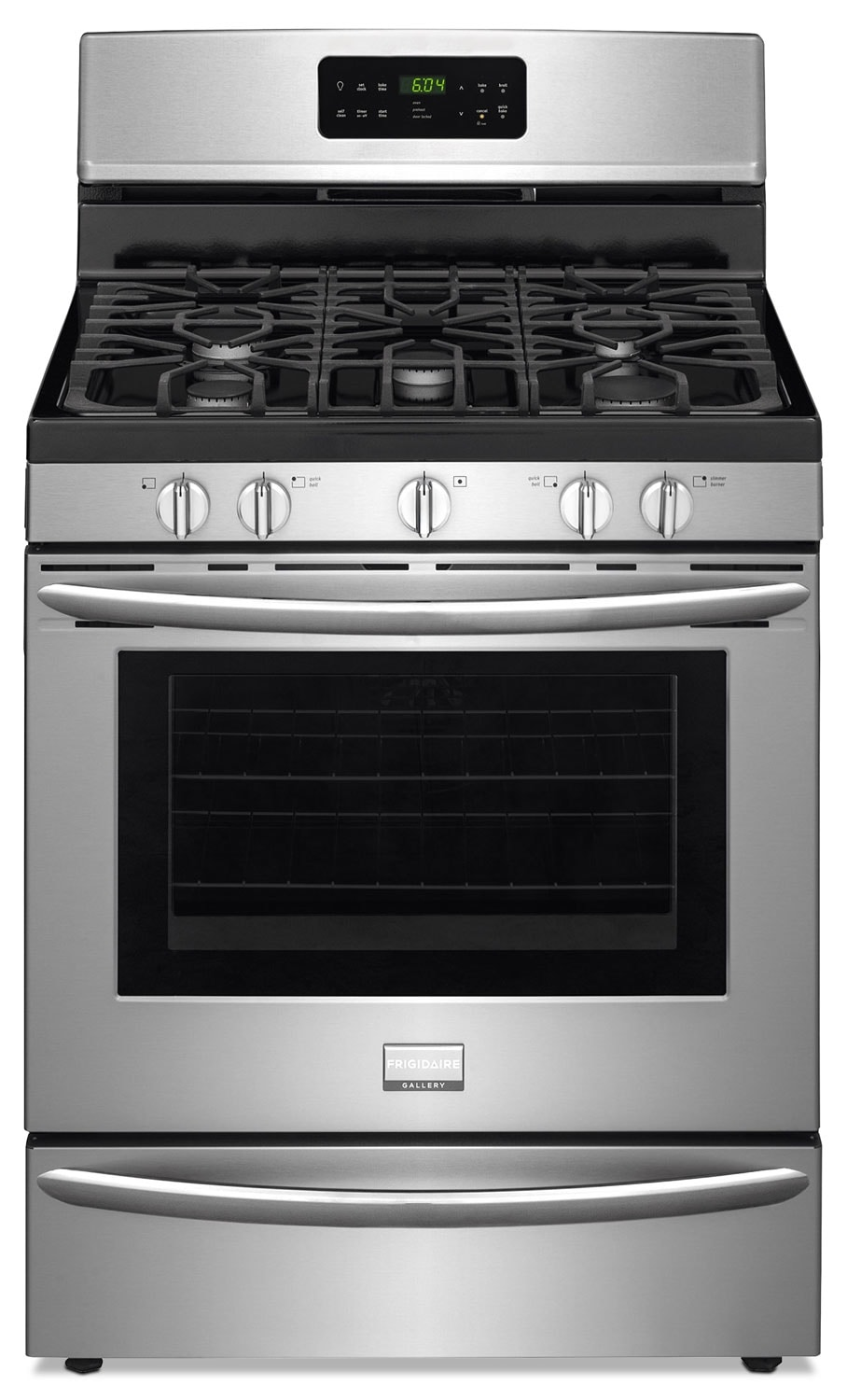[Frigidaire Gallery Stainless Steel Freestanding Gas Convection Range (5.0 Cu. Ft.) - FGGF3035RF]