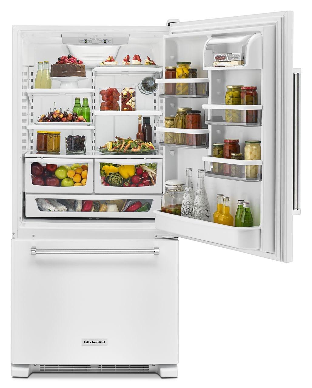 Guam aid bottom freezer kitchen refrigerator