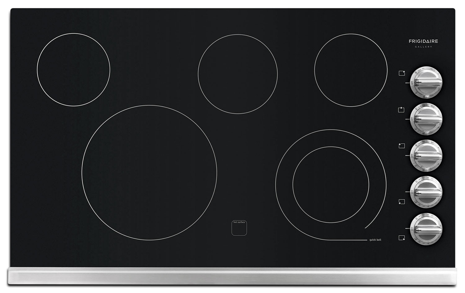 Cooking Products - Frigidaire Gallery Electric Cooktop FGEC3645PS