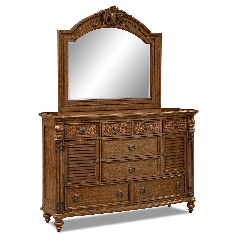 [Key Largo Dresser & Mirror]