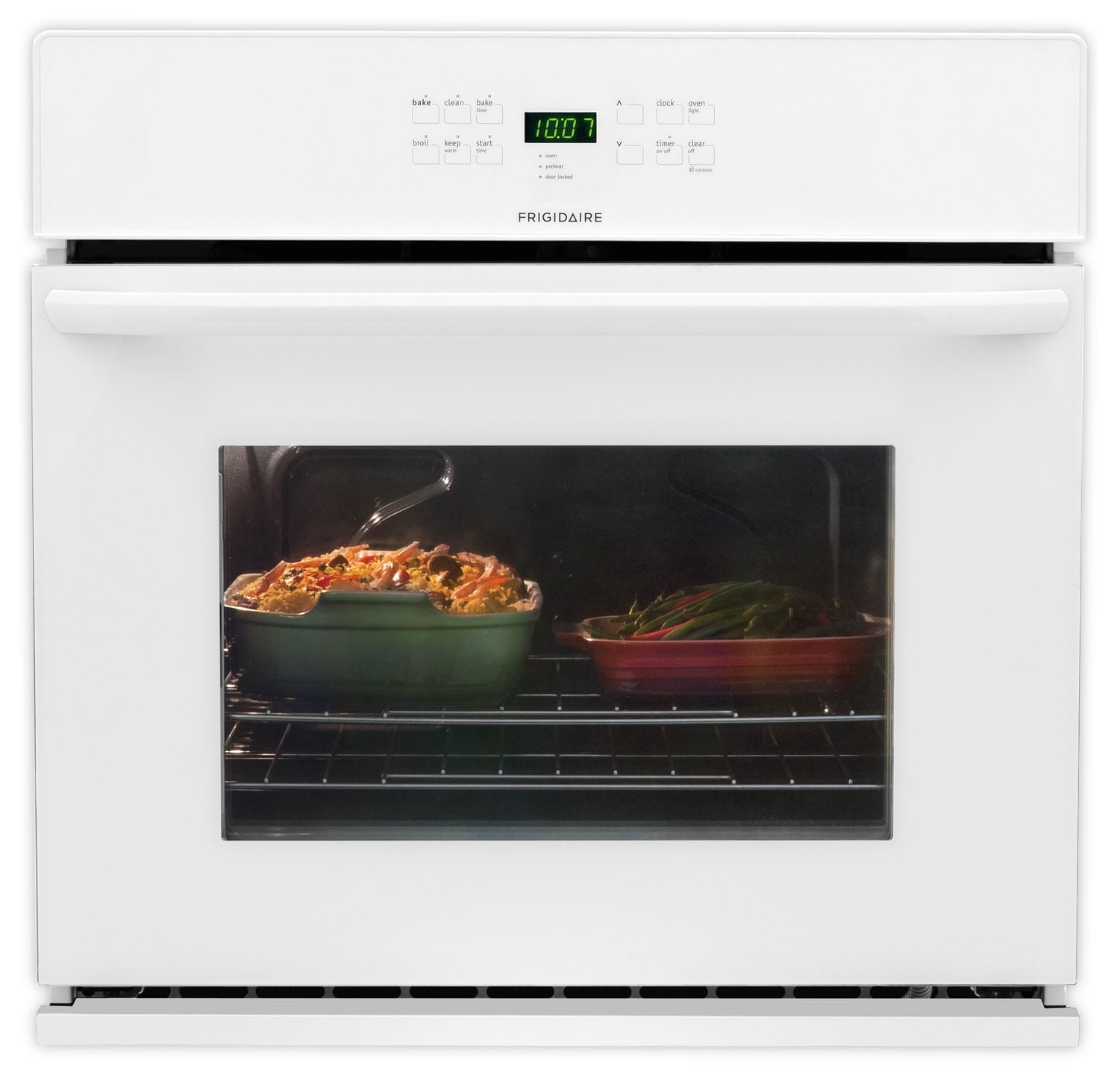 Cooking Products - Frigidaire White Wall Oven (4.6 Cu. Ft.) - FFEW3025PW