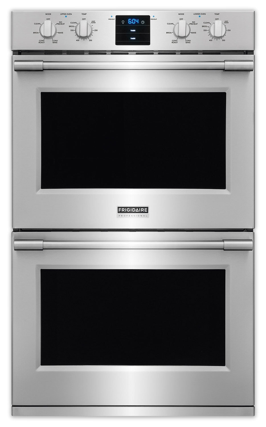 Cooking Products - Frigidaire Professional Stainless Steel Convection Double Wall Oven 10.2 Cu. Ft.) - FPET3077RF