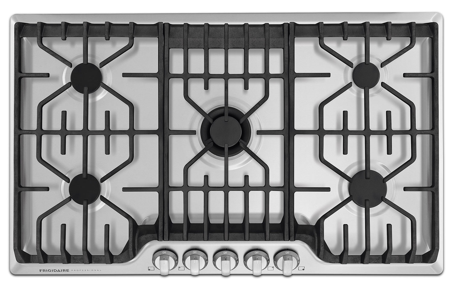 Cooking Products - Frigidaire Professional Stainless Steel Gas Cooktop with PowerPlus® Burner - FPGC3677RS