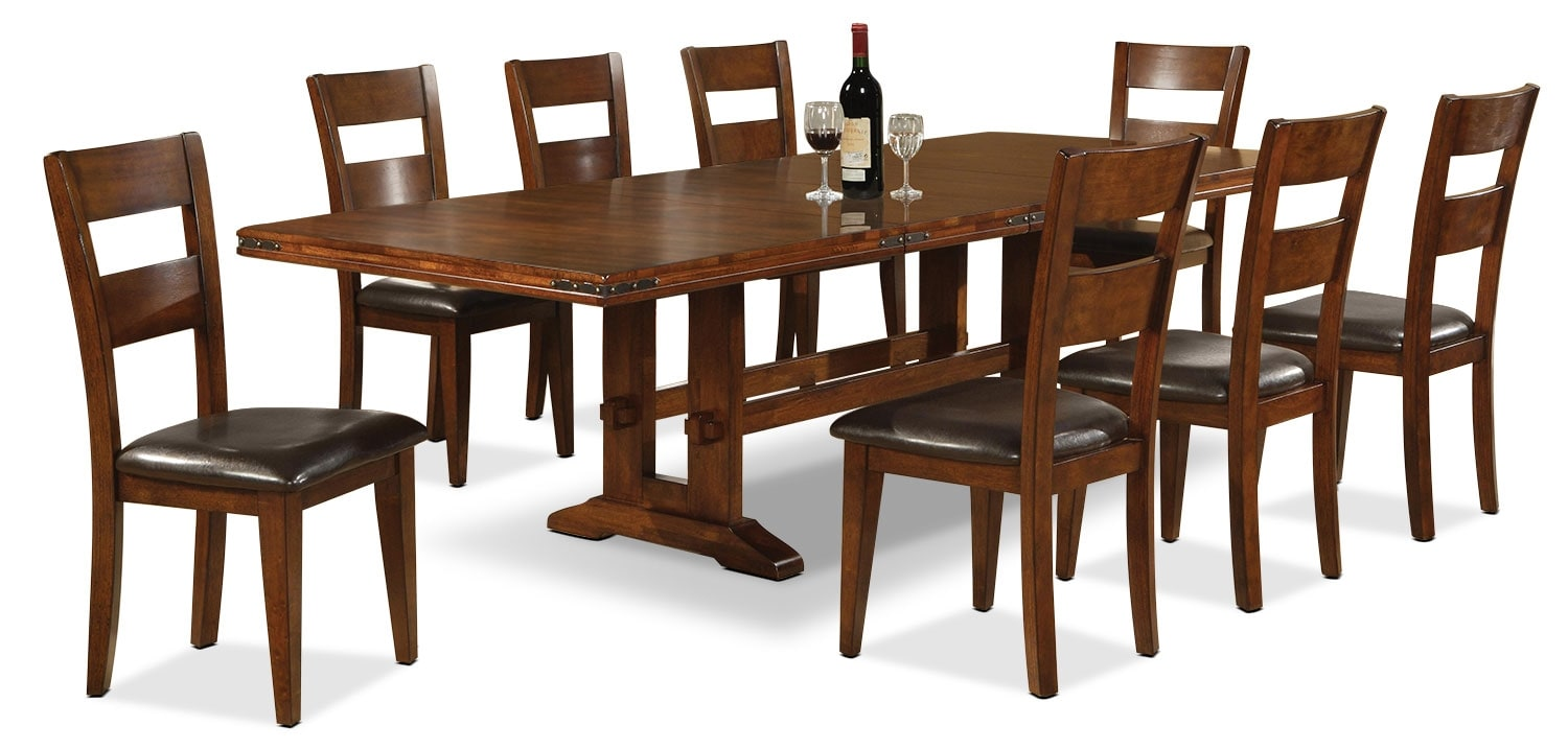 Dining Room Furniture - Magnus 9 Piece Dining Package