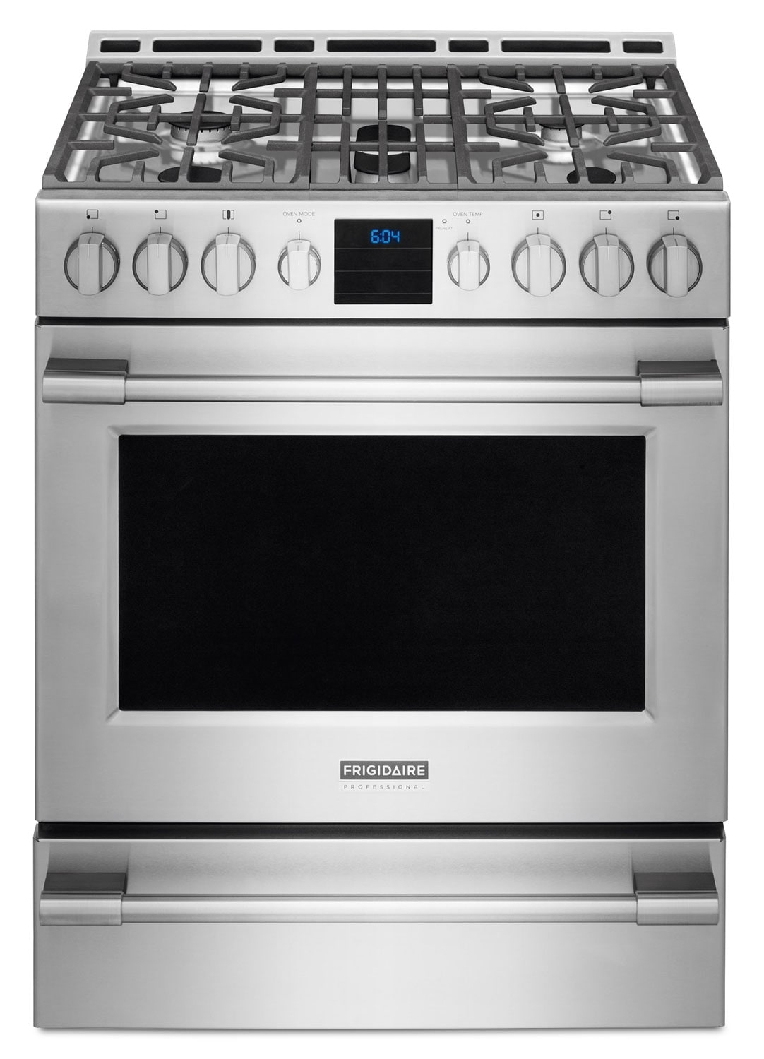 Cooking Products - Frigidaire Professional Stainless Steel Freestanding Gas Convection Range (5.1 Cu. Ft.) - FPGH3077RF
