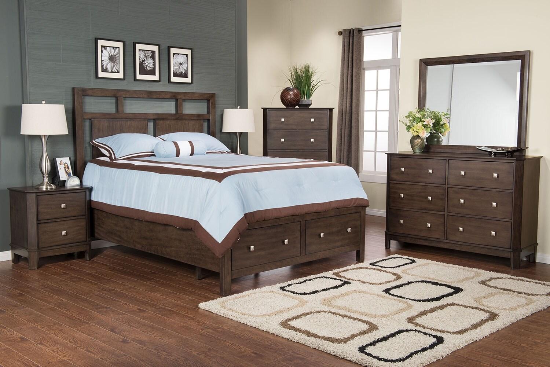Bedroom Furniture - Urbane 8-Piece King Bedroom Package