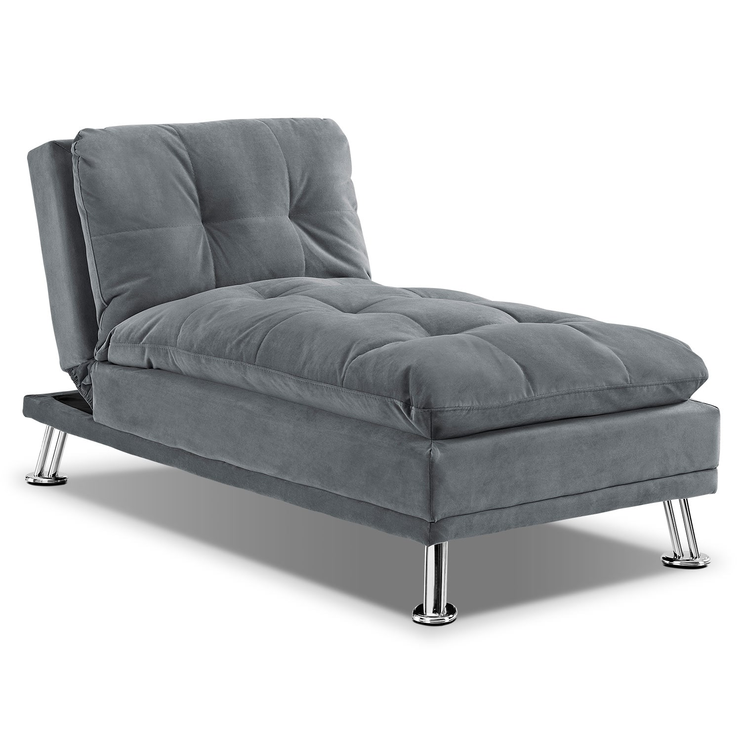 [Waltz Gray Chaise]