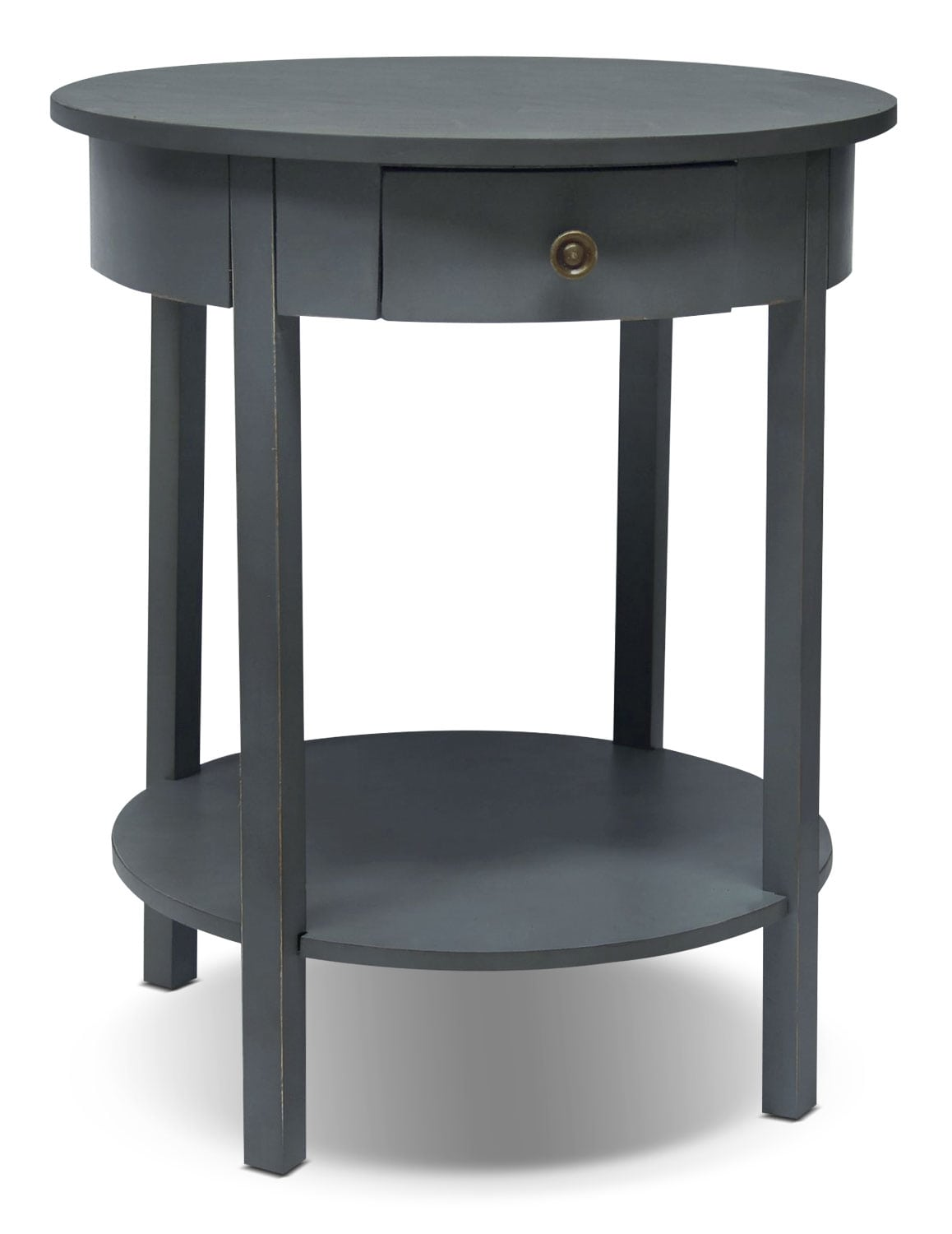 Grafton Accent Table - Slate Blue