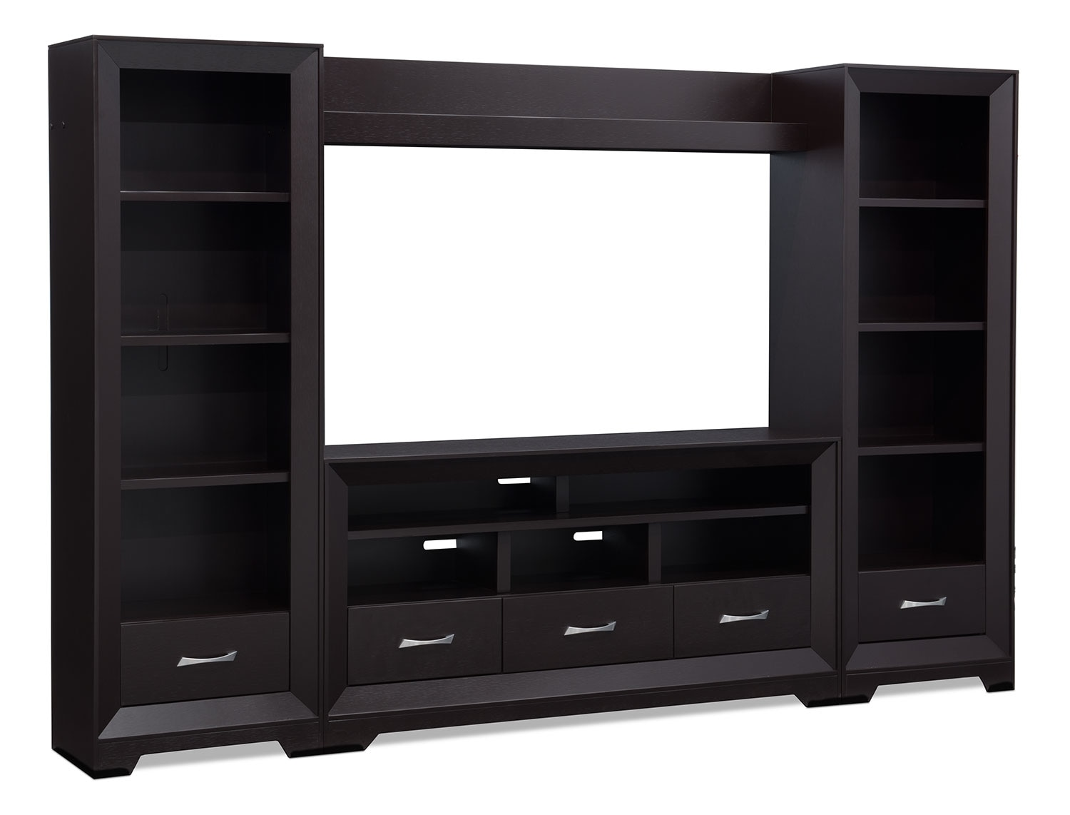 "Entertainment Furniture - Sofia 4-Piece Entertainment Centre with 60"" TV Opening"