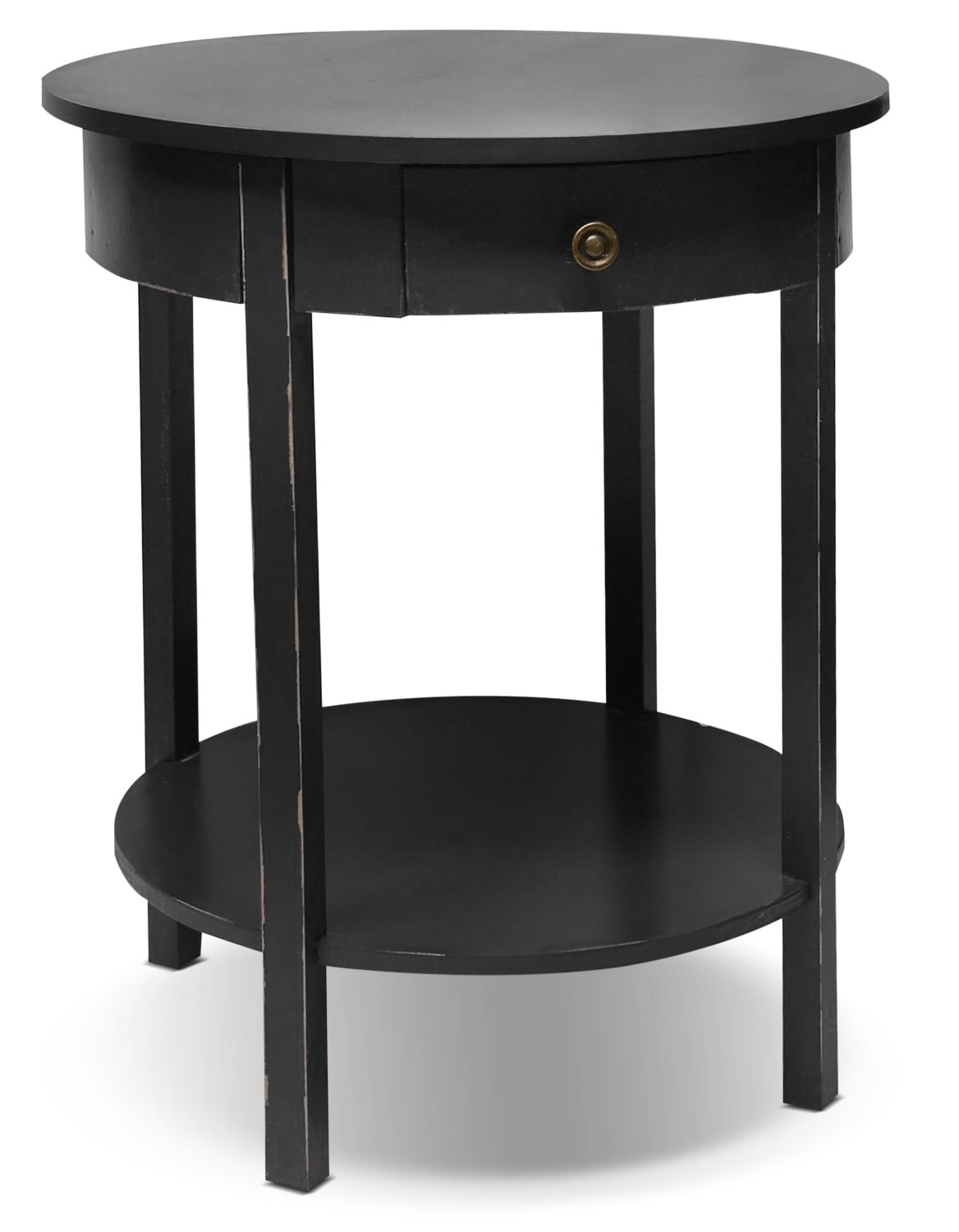 Accent and Occasional Furniture - Grafton Accent Table - Satin Black