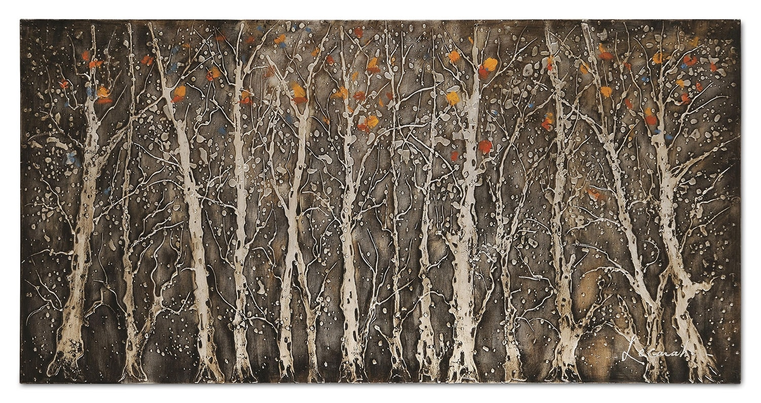 """Accent and Occasional Furniture - Rugged Forest - 56"""" x 28"""""""