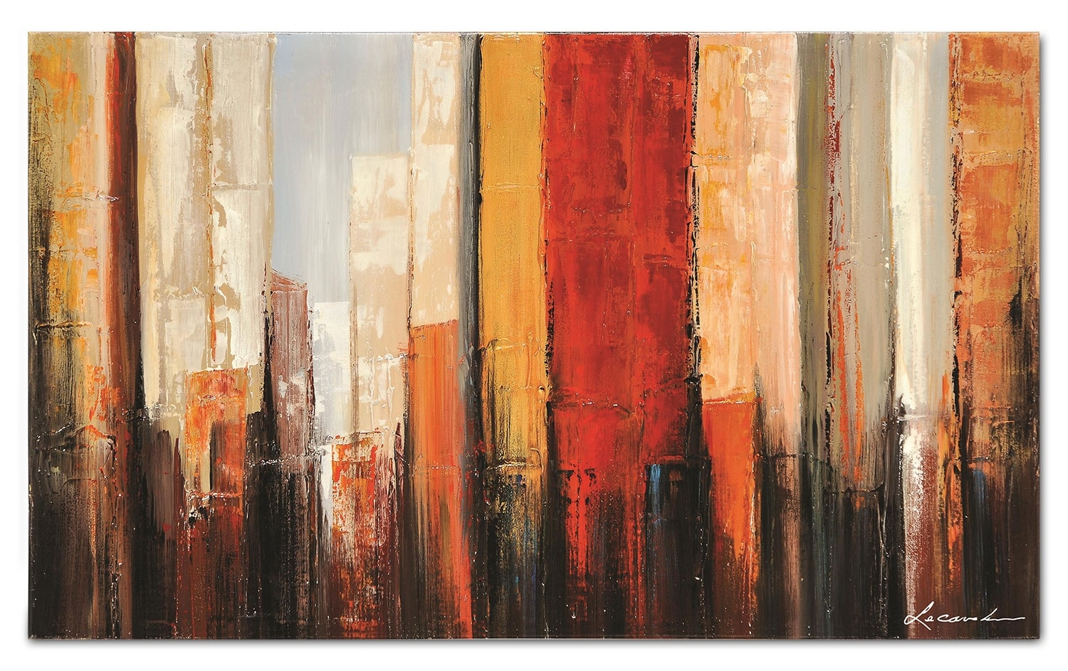 "New York Morning - 50"" x 30"""