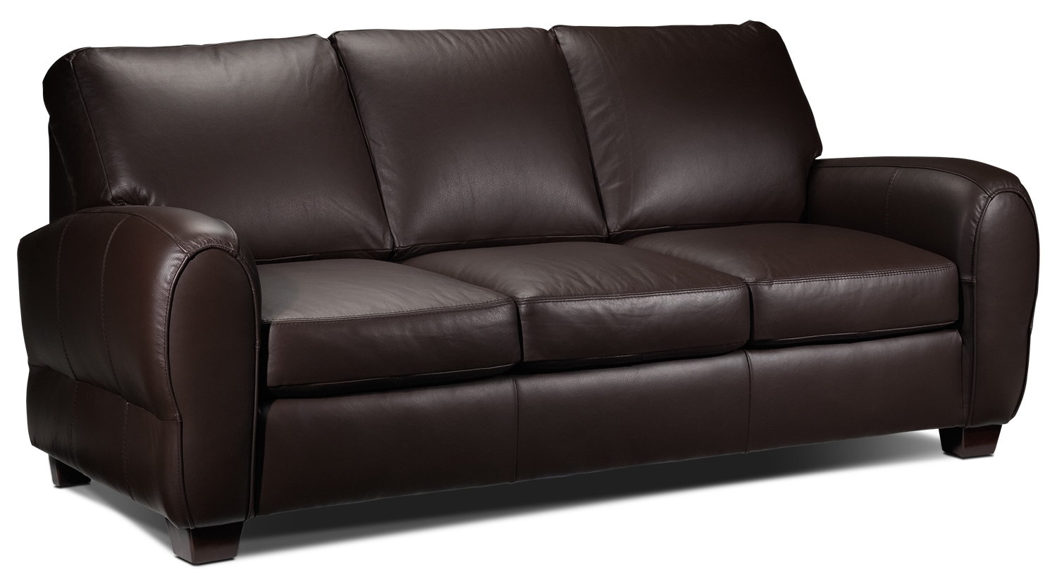 sheldon sofa chocolate leon 39 s. Black Bedroom Furniture Sets. Home Design Ideas