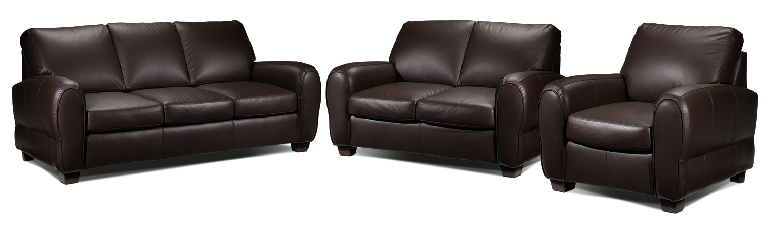 Sheldon 3 Pc. Living Room Package