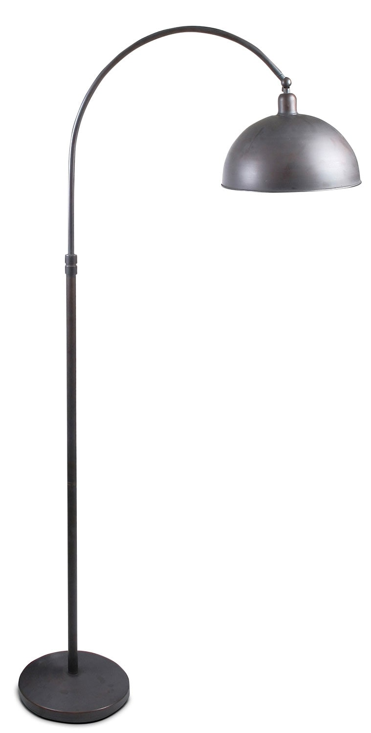 Bean Bronze Metal Floor Lamp