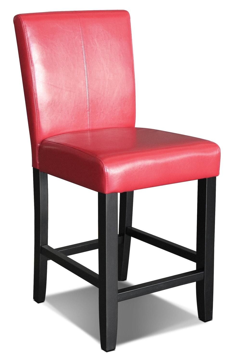 Dining Room Furniture - Red Counter-Height Dining Chair