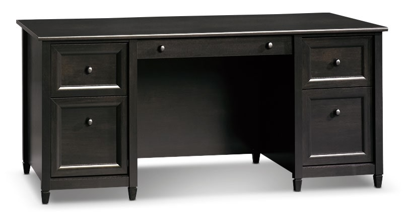 Home Office Furniture - Edge Water Executive Desk - Estate Black