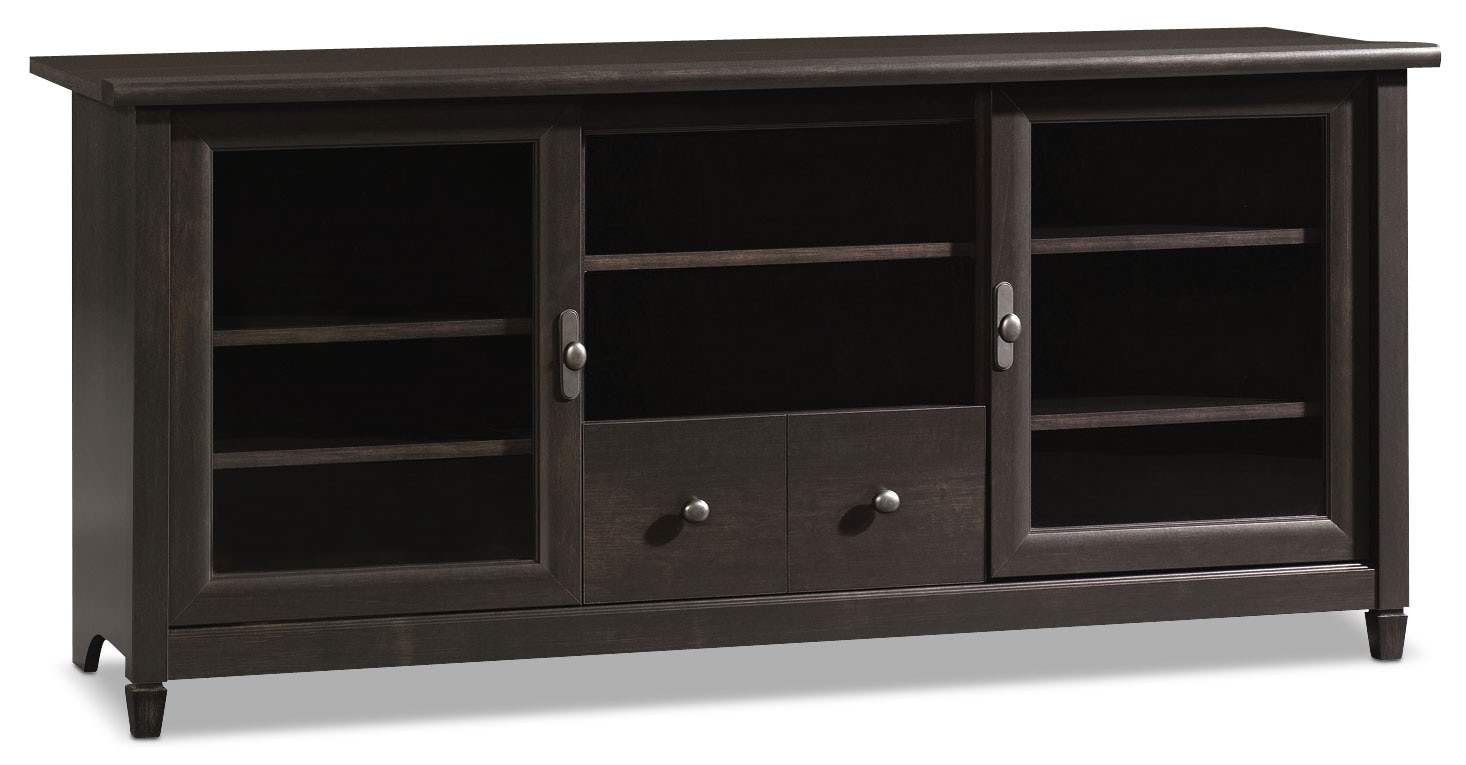 "Entertainment Furniture - Edge Water 59"" TV Stand – Estate Black"