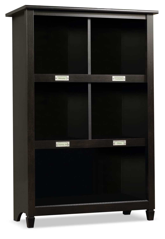 Home Office Furniture - Edge Water Bookcase – Estate Black