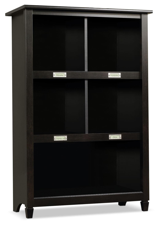 Biblioth que edge water noir estate brick for Centre de liquidation meuble