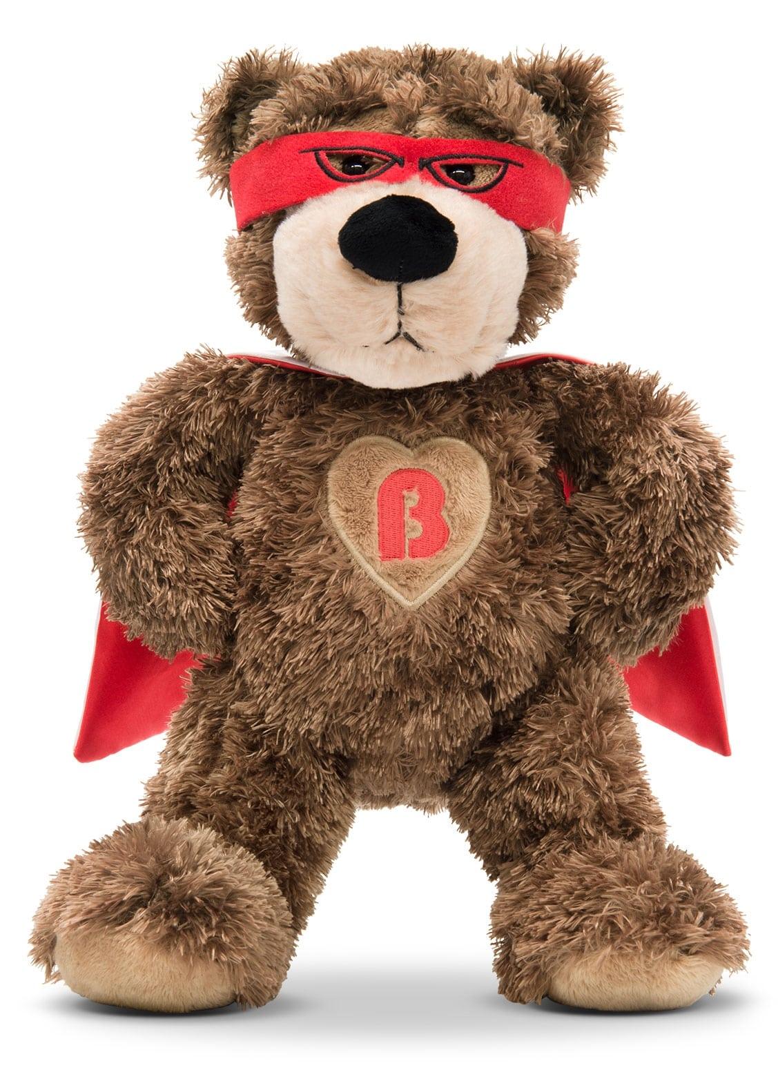Superhero Brickley Bear