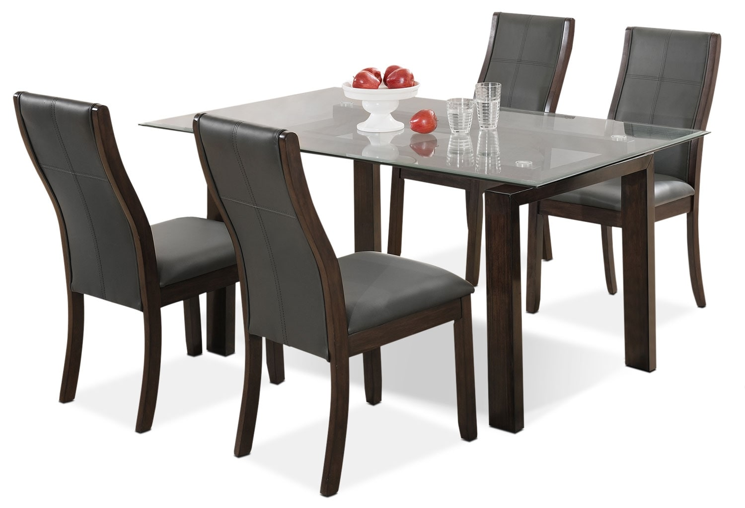 Dining Room Furniture - Tyler 5-Piece Dining Package