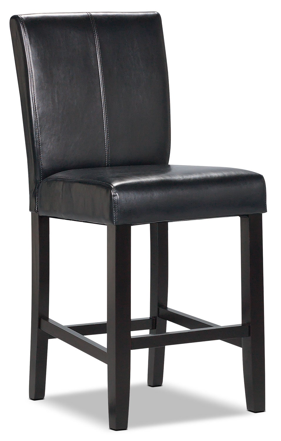black counter height dining chair the brick