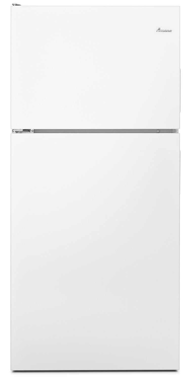 Refrigerators and Freezers - Amana White Top-Freezer Refrigerator (16 Cu. Ft.) - ART316TFDW